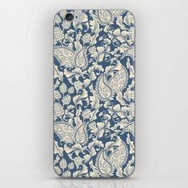 Vintage & Shabby Chic - William Morris Classic Blue Antique Floral iPhone Skin