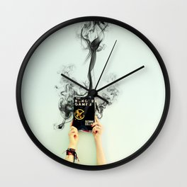 """""""Happy Hunger Games! And may the odds be ever in your favor!"""" Wall Clock"""
