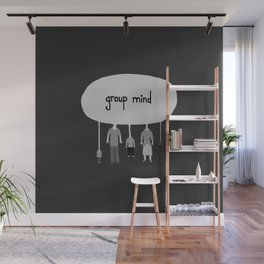 Group Mind Wall Mural