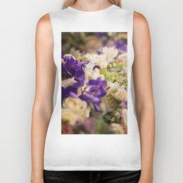 Bouquet of flowers, violets Biker Tank