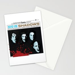 What We Do in the Shadows alternate movie poster Stationery Cards