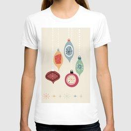 Retro Christmas Baubles T-shirt