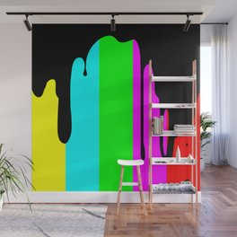 Black Out Wall Mural