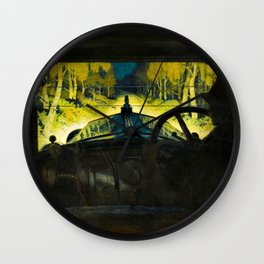 The Enchanted Road by Frank O Salisbury Wall Clock