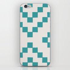 Tiles - in Teal iPhone & iPod Skin