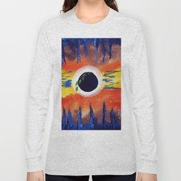 Solar eclipse Long Sleeve T-shirt