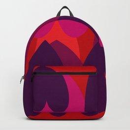 Purple hearts Backpack