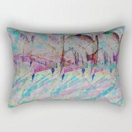 sleeping elsewhere Rectangular Pillow