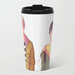 they meet each other in the middle Travel Mug