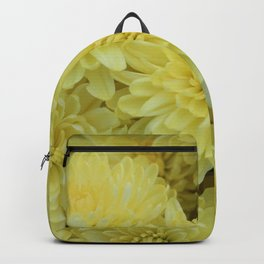 Yellow Mums Backpack