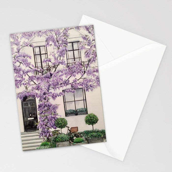 Lilac Lane Stationery Cards