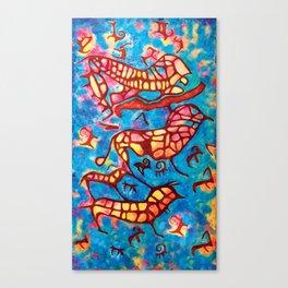 Mythical Creatures Canvas Print