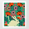 Little bunny in spring by cocodes