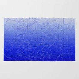 Blue Art Assembly Rug