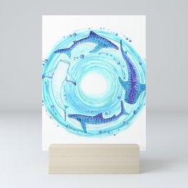 Circle of the Seas Mini Art Print