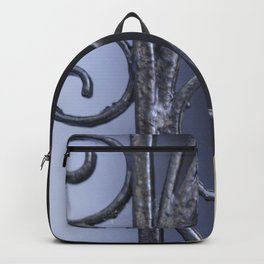Charleston Blue Wrought Iron Backpack