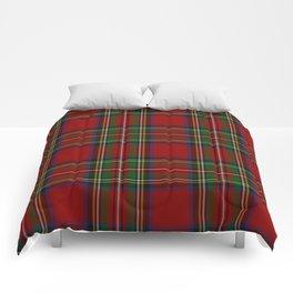 Royal Stewart Tartan Clan Comforters
