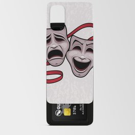 Comedy And Tragedy Theater Masks Android Card Case