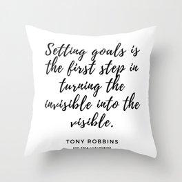 90     190423 Motivational Quotes Throw Pillow