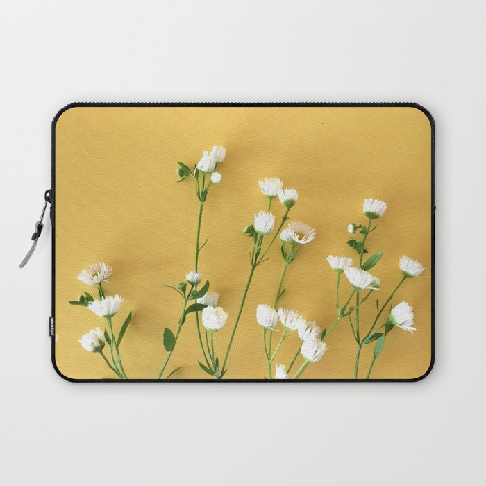 Yellow summer | Flower Photography Laptop Sleeve