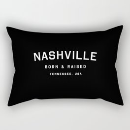 Nashville - TN, USA (Arc) Rectangular Pillow