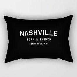 Nashville - TN, USA (Arc) Rectangular Pillow