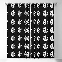 Small Animal Logo Illustration Blackout Curtain