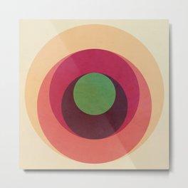 Abstract Circle Games Metal Print