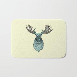 deer in the headlights Bath Mat