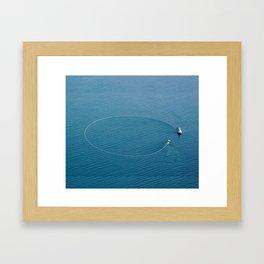 Salmon Seiner Framed Art Print