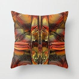Fractal Energy Throw Pillow