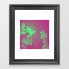 Radiant Clouds Framed Art Print
