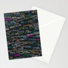 Web developer Stationery Cards