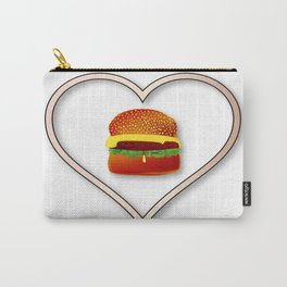 Love Burgers Carry-All Pouch
