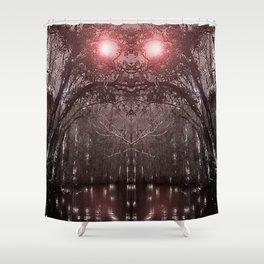 Swamp Thing V2 Shower Curtain