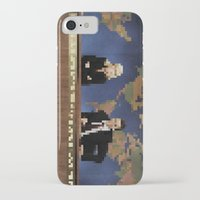 amy poehler iPhone & iPod Cases featuring seth & amy by Bad Movies