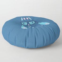 Mittstagrams - The Original Mitts (in Dark Blue) Floor Pillow