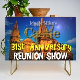 Magic Mike's Castle 31st Anniversary Reunion Show Credenza