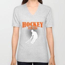 Hockey Is My Life Unisex V-Neck