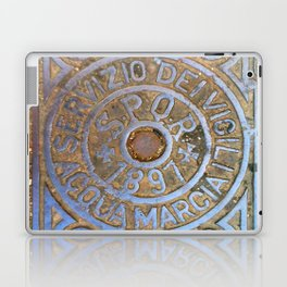Milan Iron Utility Cover Laptop & iPad Skin
