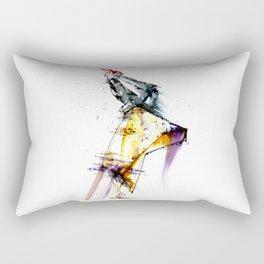 devil wears fashion Rectangular Pillow