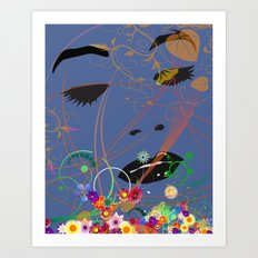 Dreams2 Art Print