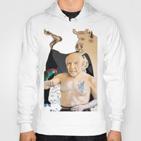 picasso Hoodies featuring Picasso by Matthew Lake