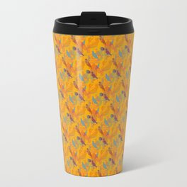 Yellow Layered Cuckoos Travel Mug