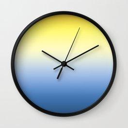 Sun Goes Down Wall Clock