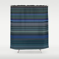avatar Shower Curtains featuring Avatar by rob art | simple