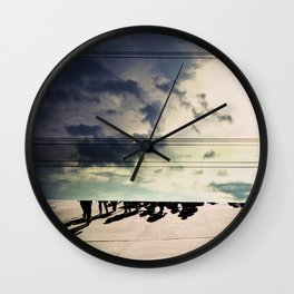 UP AND DOWN Wall Clock