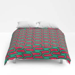 Pop Swirls Comforters