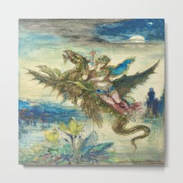 """""""Dream of the Orient"""" by Gustave Moreau (1885) Metal Print"""
