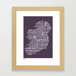 Irish Rock Framed Art Print